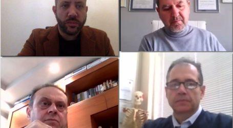 Τηλεδιάσκεψη Μεϊκόπουλου με το Σύλλογο Φυσικοθεραπευτών Μαγνησίας για τα επαγγελματικά δικαιώματα