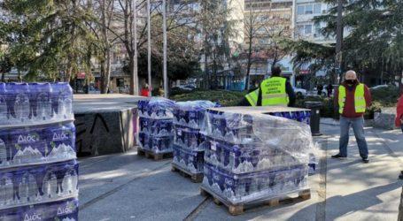 Συνεχίζεται η διανομή νερού στους Λαρισαίους το πρωί της Παρασκευής – Εντός της ημέρας η αποκατάσταση του προβλήματος