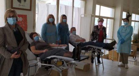 Ενισχύθηκε η δημοτική τράπεζα αίματος του Βελεστίνου