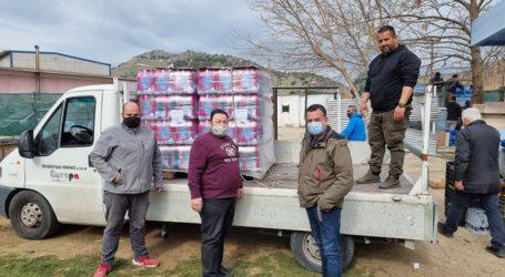 Μαγνησία: Μεγαλώνει η «αγκαλιά» στους σεισμόπληκτους