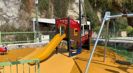 Παραδόθηκε η νέα παιδική χαρά στο Πατητήρι Αλοννήσου