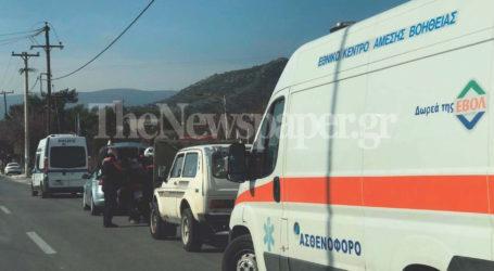 ΤΩΡΑ: Τροχαίο ατύχημα στον Βόλο – Ένας τραυματίας [εικόνες]