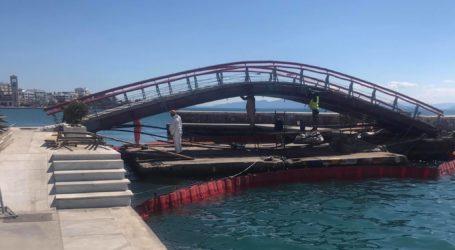Βόλος: Παράταση εργασιών στη γέφυρα της παραλίας – Πότε θα δοθεί στην κυκλοφορία