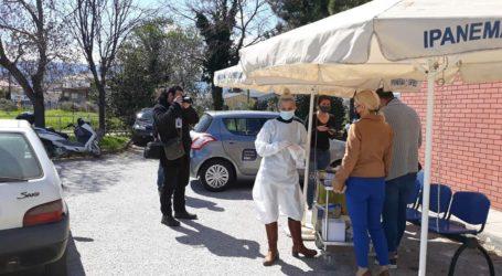 Μαγνησία: 2 θετικά rapid tests στον Βόλο – Κανένα στο Πήλιο