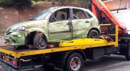 Βόλος: Τροχαίο ατύχημα στις Πλάκες – Ντεραπάρισε ΙΧ [εικόνα]