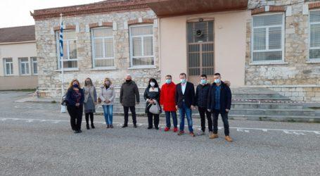 Στο δημοτικό σχολείο Φαλάνης Βαγενά και Κόκκαλης