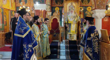 Βόλος: Τιμήθηκε ο Ευαγγελισμός της Θεοτόκου σήμερα στην Ευαγγελίστρια Ν. Ιωνίας [εικόνες]