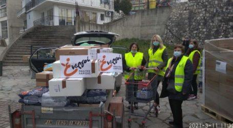 Πρώτος απολογισμός της δράσης αλληλεγγύης των Ενεργών Πολιτών για τους σεισμόπληκτους