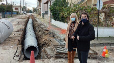 Α. Κοπάνας: «Άρση πλημμυρικής επικινδυνότητας στην είσοδο της Νέας Αγχιάλου, επί της Ε.Ο. και αποκατάσταση του οδοφωτισμού»