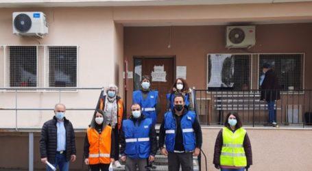 Κλιμάκια ελέγχουν κτήρια για πιθανές ζημιές και στο δήμο Τεμπών