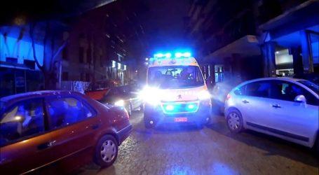 Αυτοκίνητο συγκρούστηκε με μηχανή της ΕΛ.ΑΣ.