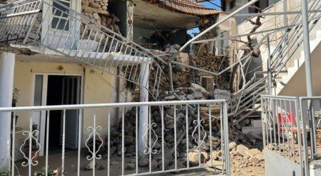 Φωτογραφίες από το σπίτι που κατέρρευσε στο Μεσοχώρι Ελασσόνας