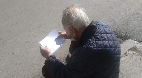 Παράτησαν στη μέση του δρόμου 94χρονο που νίκησε τον κορωνοϊό στην Αγιάσο