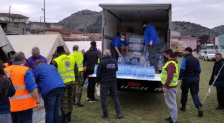 Ανθρωπιστική βοήθεια στους σεισμοπαθείς της Θεσσαλίας από την περιφέρεια Αττικής