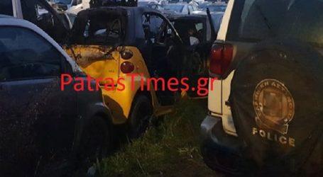 Επίθεση με βόμβες μολότοφ σε πάρκινγκ που χρησιμοποιεί η Αστυνομία