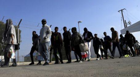 Συρματοπλέγματα στη συνοριακή γραμμή για να αποτραπεί η παράνομη μετανάστευση