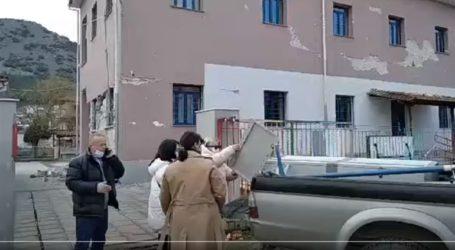 Κατεδαφίζεται το σχολείο που υπέστη ζημιές από τον σεισμό