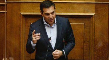 «Στην πιο κρίσιμη στιγμή για την ελληνική κοινωνία, επιλέγετε ως βασική στρατηγική την ένταση και τον διχασμό»