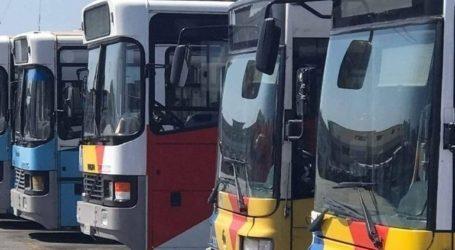 Φωτιά σε λεωφορείο του ΟΑΣΘ