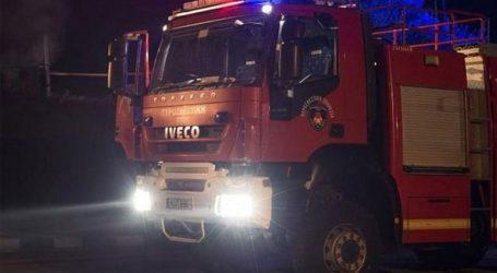 Κάηκε ολοσχερώς όχημα του Δήμου Νεάπολης-Συκεών