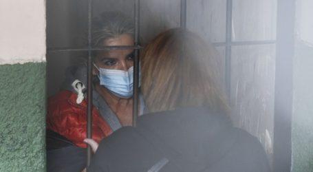Η πρώην μεταβατική πρόεδρος Τζανίνε Άνιες διακομίστηκε από τη φυλακή σε νοσοκομείο