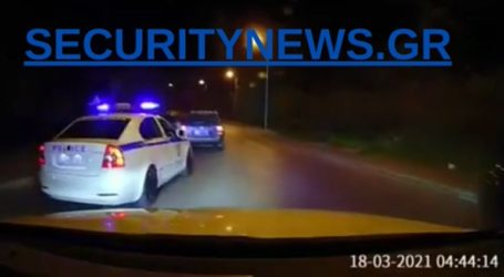 «Κινηματογραφική» καταδίωξη επικίνδυνου κακοποιού στη νυχτερινή Αθήνα
