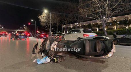 Αυτοκίνητο παρέσυρε και εγκατέλειψε μοτοσικλετιστή