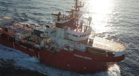 Πάνω από 100 μετανάστες διασώθηκαν στα ανοικτά της Λιβύης από το Ocean Viking