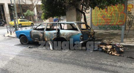 Εμπρησμός οχήματος στην οδό Πειραιώς