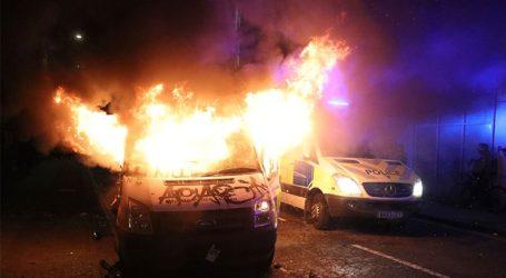 Συγκρούσεις διαδηλωτών με την αστυνομία στο Μπρίστολ