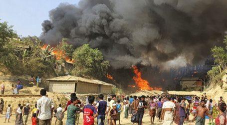 Τουλάχιστον έξι νεκροί πρόσφυγες Ροχίνγκια από την πυρκαγιά που ξέσπασε στον καταυλισμό τους