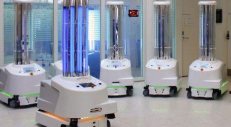 Το πρώτο ρομπότ απολύμανσης, με 100% ευρωπαϊκή χρηματοδότηση, έφτασε στην Ελλάδα