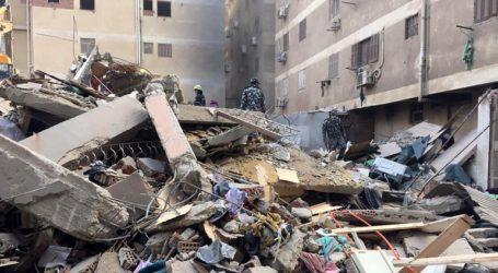 Στους 16 οι νεκροί από την κατάρρευση δεκαώροφου κτηρίου στο Κάιρο