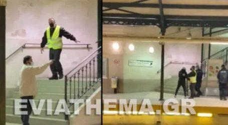 Χαμός στον σταθμό ηλεκτρικού της Κηφισιάς – Καβγάς διαλύθηκε με επέμβαση της αστυνομίας