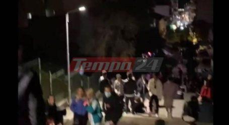 Απίστευτος συνωστισμός χθες βράδυ στις σκάλες Γεροκωστοπούλου