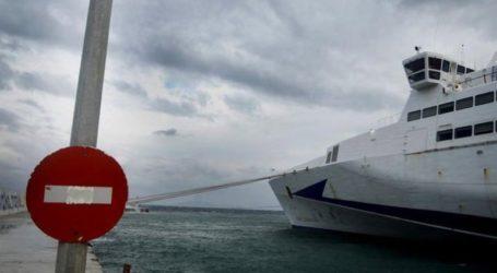 Mικροπροβλήματα στις ακτοπλοϊκές συγκοινωνίες λόγω ισχυρών ανέμων σε πολλές θαλάσσιες περιοχές