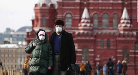 Η Ρωσία ανακοίνωσε 8.275 νέα κρούσματα Covid-19 και 408 θανάτους