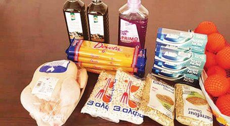 Διανομή προϊόντων ΤΕΒΑ από τον Δήμο Ν. Πηλίου