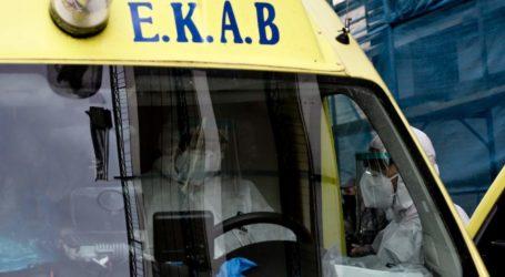 Δύο τραυματίες μετά από τροχαίο ατύχημα στον Βόλο