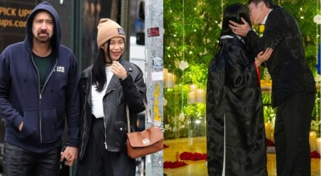 Πέμπτη φορά γαμπρός ο Nicolas Cage – Παντρεύτηκε την 26χρονη Riko Shibata