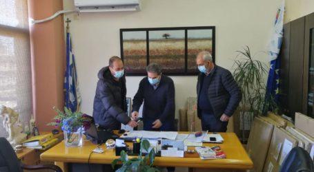 Συμβάσεις για 8 νέα έργα 1,334 εκ. ευρώ υπέγραψε ο δήμαρχος Φαρσάλων