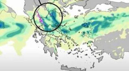 Κύμα κακοκαιρίας και στη Μαγνησία – Που και πότε θα χιονίσει