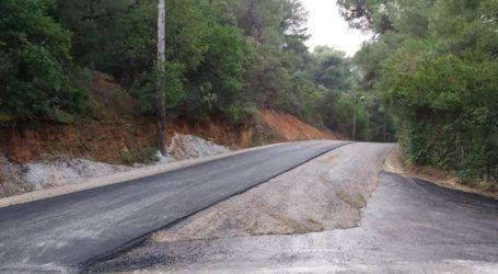 Η Περιφέρεια Θεσσαλίας βελτιώνει την οδική ασφάλεια στο δρόμο Σκιάθου – Κουκουναριών