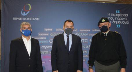 Υπόδειγμα «καλής πρακτικής» η συνεργασία Περιφέρειας Θεσσαλίας και Ενόπλων Δυνάμεων στην αντιμετώπιση φυσικών καταστροφών
