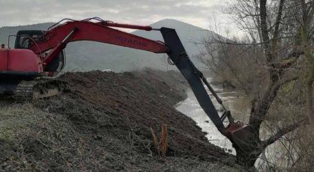 Αντιπλημμυρικά 3,5 εκατ. ευρώ από την Περιφέρεια Θεσσαλίας σε ποτάμια και ρέματα στο Δήμο Φαρσάλων