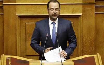 Ο Κων. Μαραβέγιας εισηγητής της Ν.Δ. στη συζήτηση για τους κατώτατους μισθούς στην Ευρωπαϊκή Ένωση
