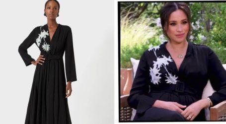 Η κομψή εμφάνιση της Meghan Markle με Giorgio Armani φόρεμα στη συνέντευξη με την Oprah Winfrey