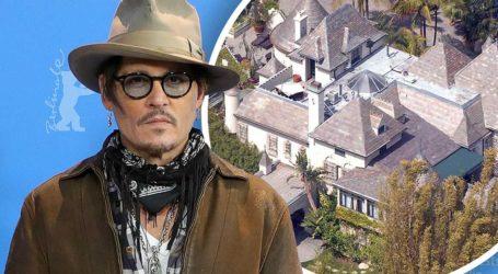 Άγνωστος άνδρας μπήκε στην έπαυλη του Johnny Depp, έκανε ντους και ήπιε ποτό!