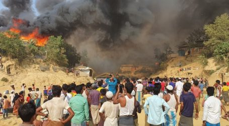 Μεγάλη πυρκαγιά με νεκρούς και τραυματίες σε προσφυγικό καταυλισμό