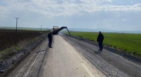 Ξεκίνησαν από την Περιφέρεια Θεσσαλίας οι εργασίες για τη βελτίωση του δρόμου Άγιοι Ανάργυροι – Άγιος Γεώργιος